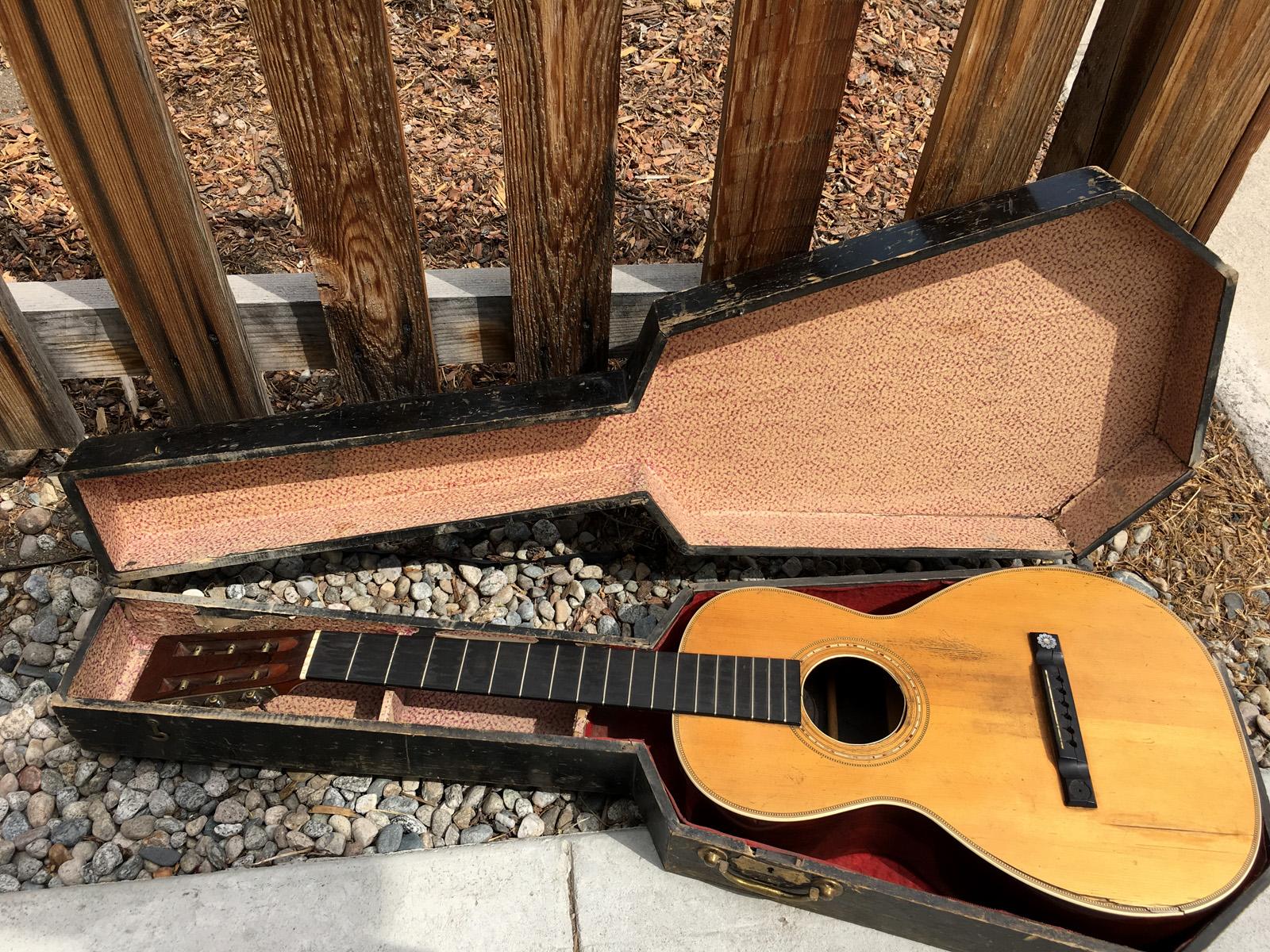broken string guitars salida guitar shop we buy sell trade new vintage guitars pre. Black Bedroom Furniture Sets. Home Design Ideas